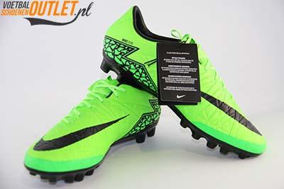 Nike Hypervenom Phinish groen (AG) voor- en zijkant (749900-307)