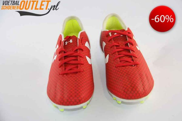 Under Armour Speedform CRM rood voorkant (1264208-600)