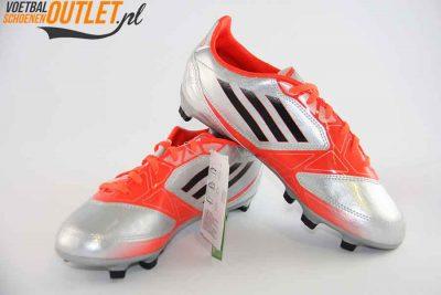 Adidas Adizero F10 zilver rood kids