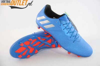 Adidas Messi 16.3 blauw voor- en onderkant (S79632)