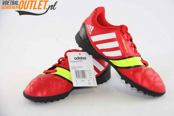 Adidas Nitrocharge 3.0 rood kids (TF) voor- en zijkant (Q33719)