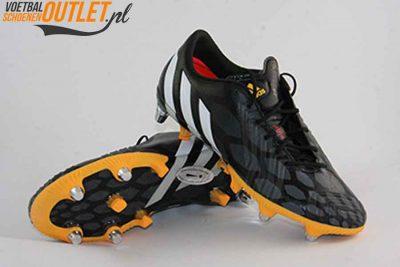 Adidas Predator Instinct zwart oranje schroefnop voor- en onderkant (M20216)