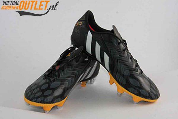 Adidas Predator Instinct zwart oranje schroefnop voor- en zijkant (M20216)