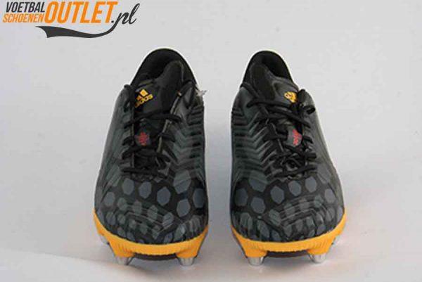 Adidas Predator Instinct zwart oranje schroefnop voorkant (M20216)