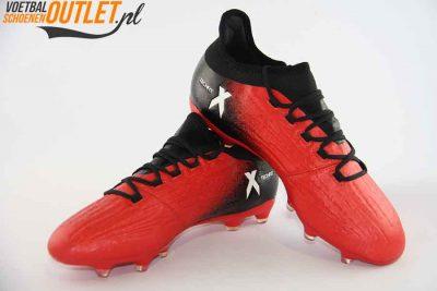 Adidas X 16.2 rood zwart