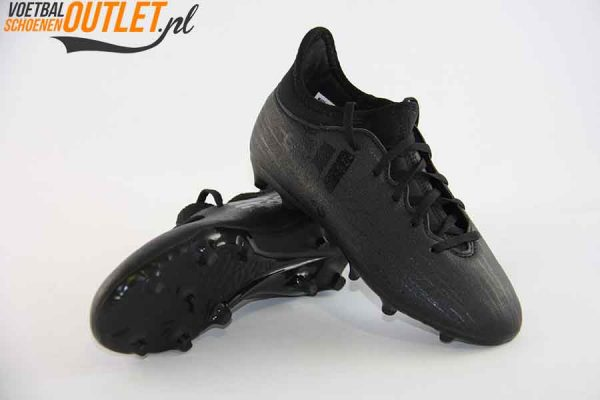 Adidas X 16.3 zwart voor- en onderkant (S79492)