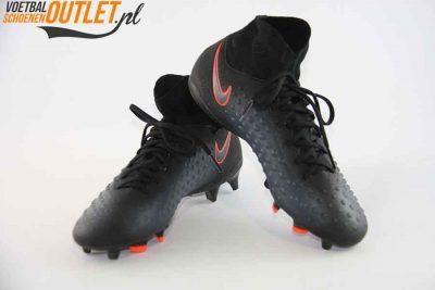Nike Magista Obra zwart kids met sok