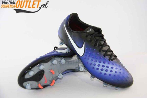 Nike Magista Opus blauw zwart voor- en onderkant (843813-018)