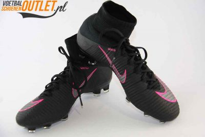 Nike Mercurial Superfly zwart kids