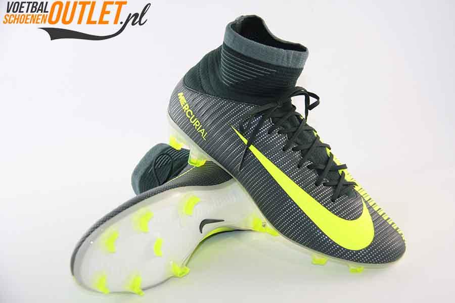 new concept c9b47 5ee06 Nike Mercurial Veloce groen geel met sok voor- en onderkant (852518-376)
