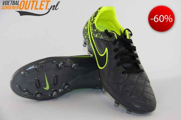 Nike Tiempo Legend grijs voor- en onderkant (631518-006)