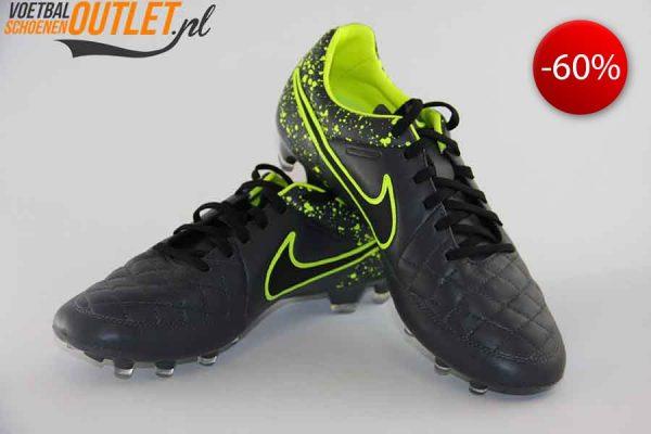 Nike Tiempo Legend grijs voor- en zijkant (631518-006)