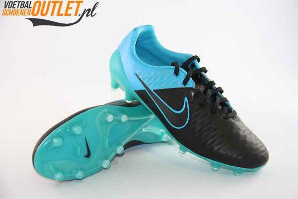 Nike Magista Opus blauw zwart voor- en onderkant (768890-004)