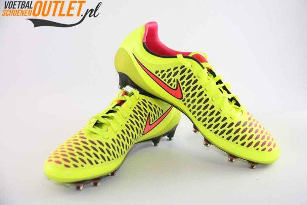 Nike Magista Opus geel voor- en zijkant (649230-770)