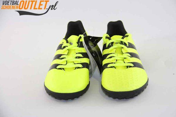 Adidas Ace 16.4 geel kids (TF) voorkant (S31982)