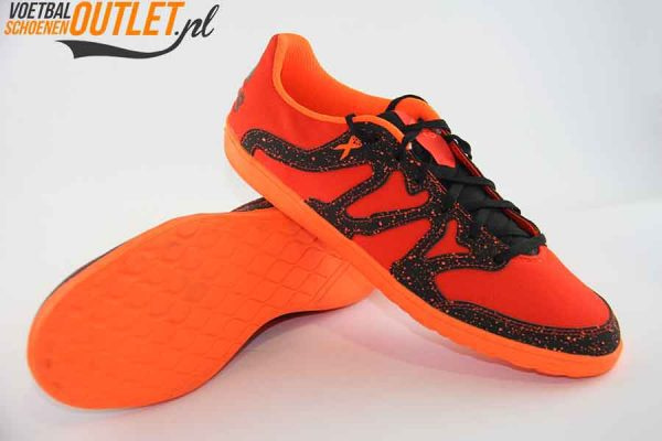 Adidas X 15.4 rood (ST) voor- en onderkant (S83178)