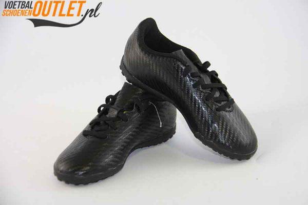 Adidas X 16.4 zwart kids (TF) voor- en zijkant (S75709)