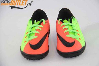 Nike Hypervenom Phelon groen zalm kids (TF) voorkant (852598-308)