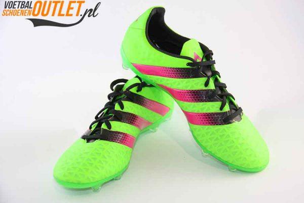Adidas Ace 16.2 groen voor- en zijkant (AF5266)
