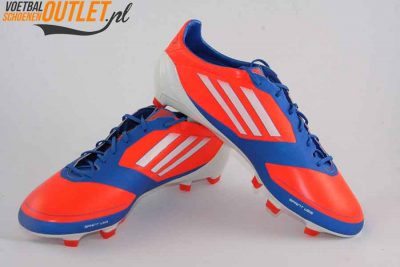 Adidas Adizero F10 blauw oranje