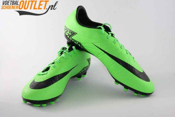 Nike Hypervenom Phelon groen zwart voor- en zijkant (749896-307)