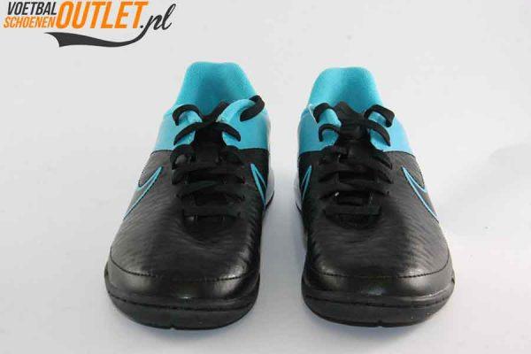 Nike Magista Onda zwart blauw kids voorkant (651655-004)