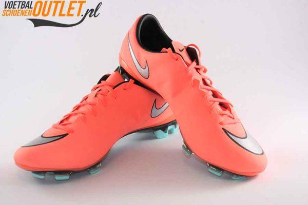 Nike Mercurial Vapor zalm voor- en zijkant (648553-803)