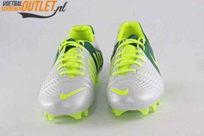 Nike Trequartista III wit groen voorkant (525162-173)