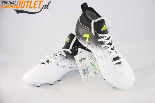 Adidas Ace 17.3 zwart wit kids voor- en zijkant (S77067)