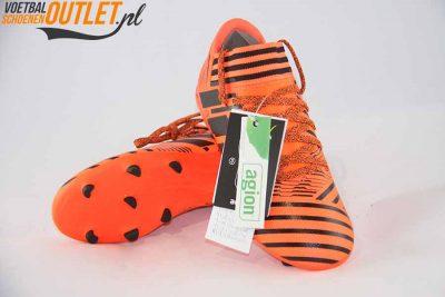 Adidas Nemeziz 17.3 rood kids voor- en onderkant (S82428)