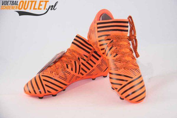 Adidas Nemeziz 17.3 rood kids voor- en zijkant (S82428)