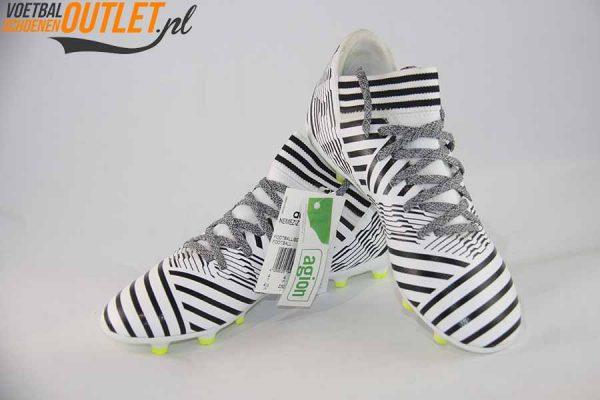 Adidas Nemeziz 17.3 zwart wit kids voor- en zijkant (S82426)