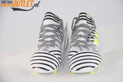 Adidas Nemeziz 17.3 zwart wit kids voorkant (S82426)