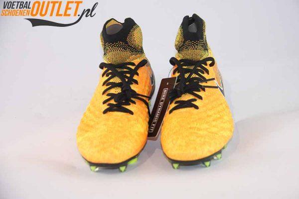 Nike Magista Obra oranje zwart kids voorkant (844410-801)