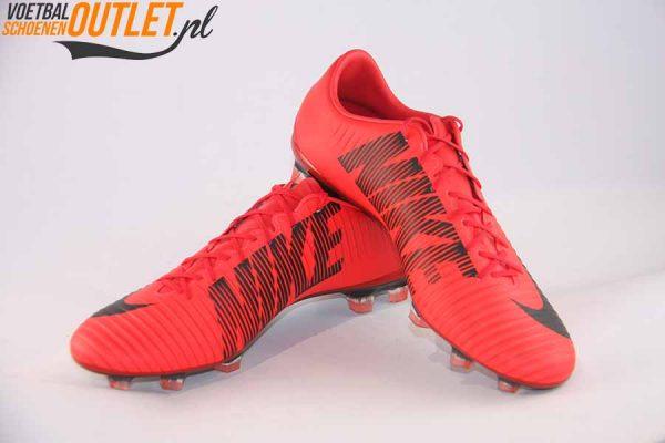 Nike Mercurial Veloce rood voor- en zijkant (847756-616)