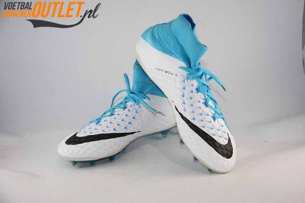Nike Hypervenom Phantom blauw wit voor- en zijkant (860643-104)