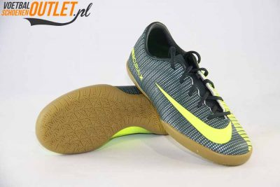 Nike Mercurial Vapor groen kids (IC) voor- en onderkant (852488-376)