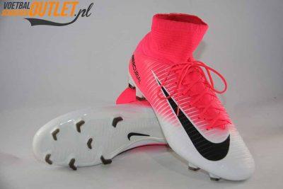 Nike Mercurial Veloce roze wit voor- en onderkant (831961-601)