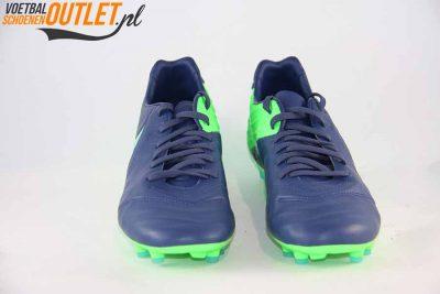 Nike Tiempo Legacy blauw groen voorkant (819218-443)