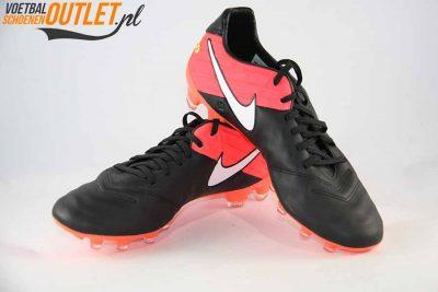 Nike Tiempo Legacy zwart roze