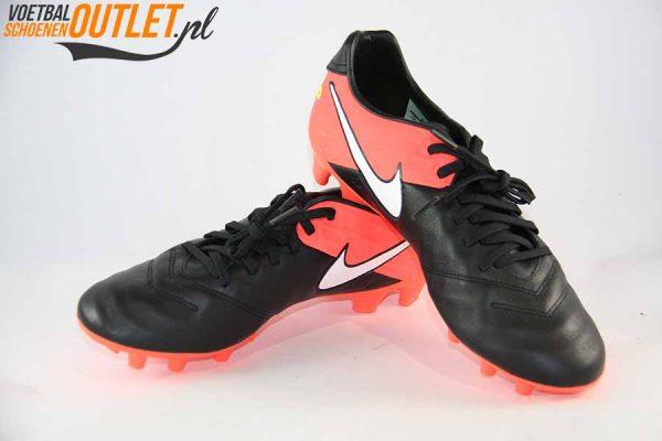 Nike Tiempo Mystic zwart roze voor- en zijkant (819236-018)