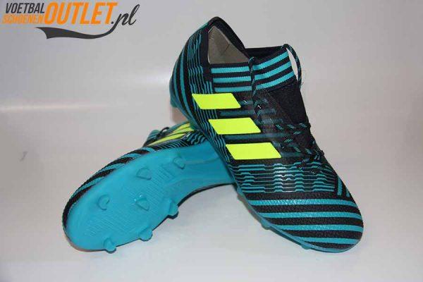 Adidas Nemeziz 17.1 blauw voor- en onderkant (S80601)
