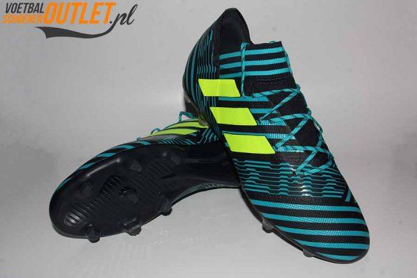 Adidas Nemeziz 17.2 blauw zwart voor- en onderkant (S80595)