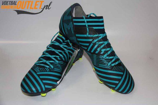 Adidas Nemeziz 17.3 blauw zwart voor- en zijkant (S80601)
