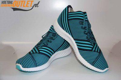 Adidas Nemeziz Tango 17.1 sneakers blauw voor- en zijkant (BY2306)