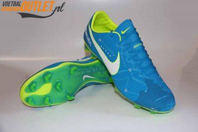 Nike Mercurial Vapor Neymar blauw voor- en onderkant (921647-400)