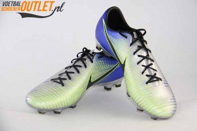 Nike Mercurial Victory zilver blauw NJR voor- en zijkant (921505-407)