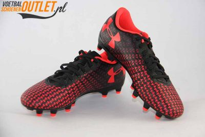 Under Armour CF Force 3.0 zwart rood