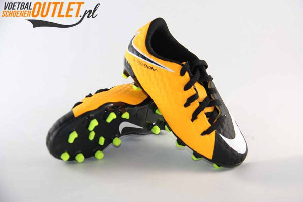Nike Hypervenom Phelon III oranje zwart voor- en onderkant (852595-801)