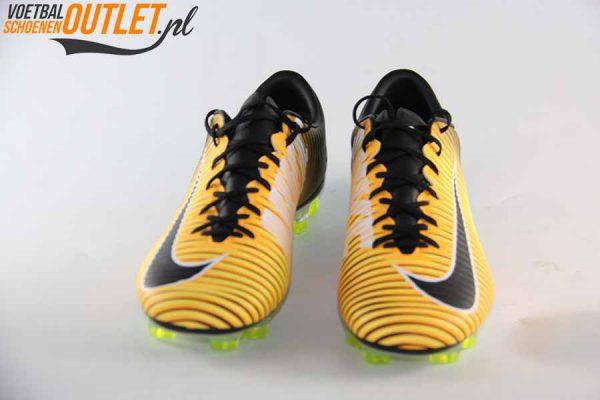 Nike Mercurial Veloce oranje zwart voorkant (847756-801)